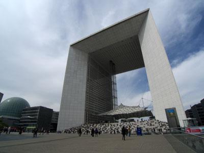 Le toit Citoyen, Arche de la Défense, Paris, France