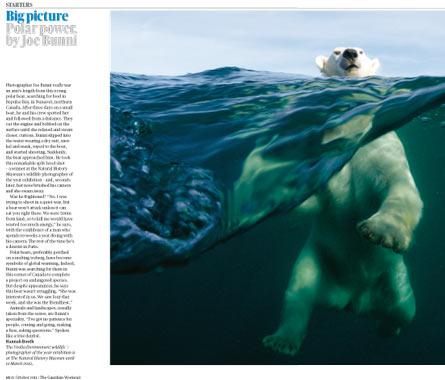 The Guardian Weekend Polar Power