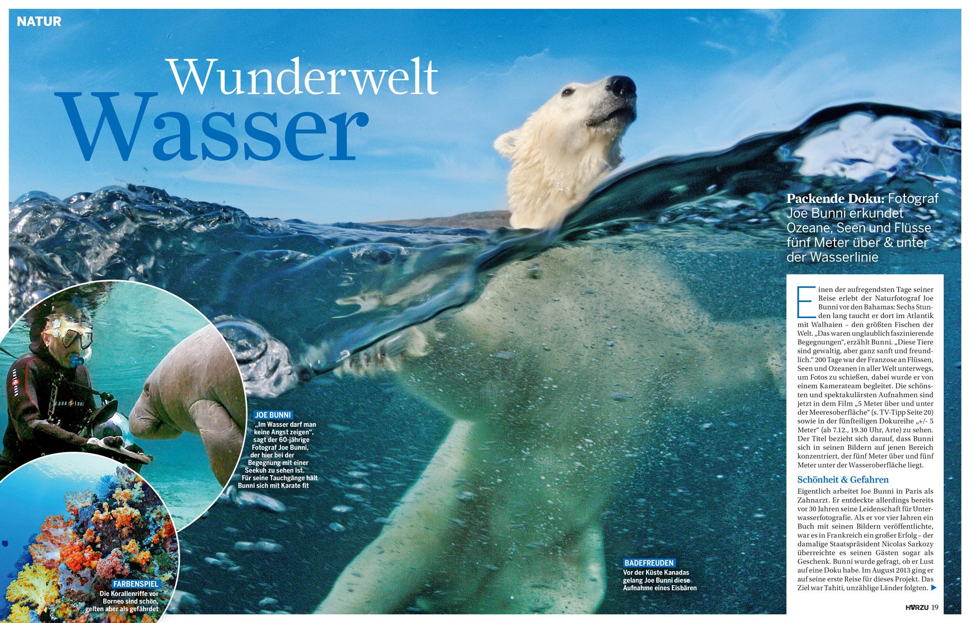 HörZu : Wunderwelt Wasser