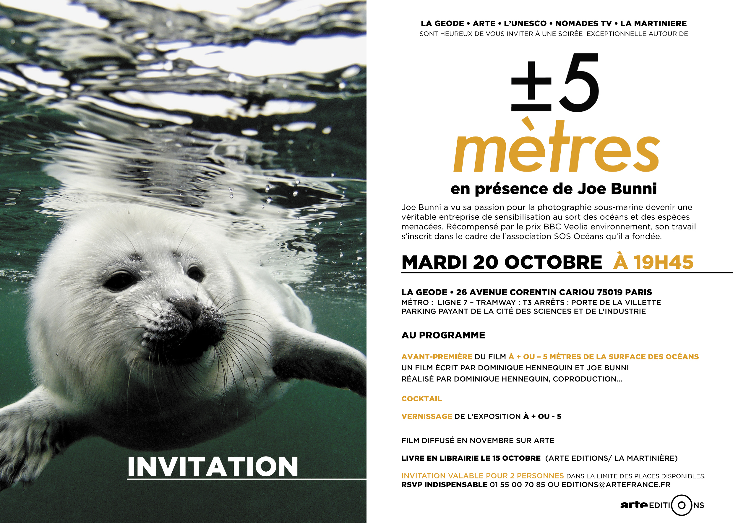 Invitation AVANT PREMIERE GEODE OCT 2015V6-1