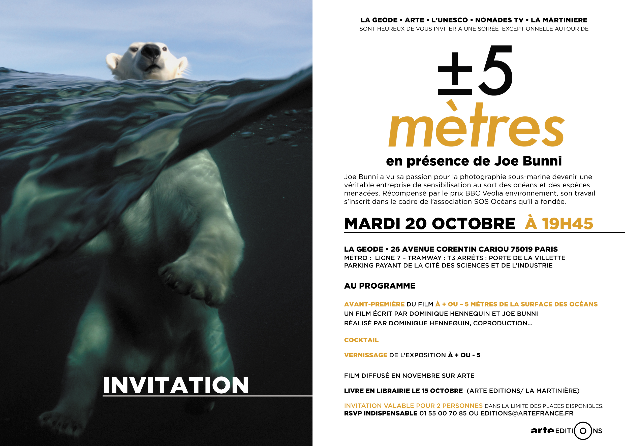 Invitation AVANT PREMIERE GEODE OCT 2015V7-1