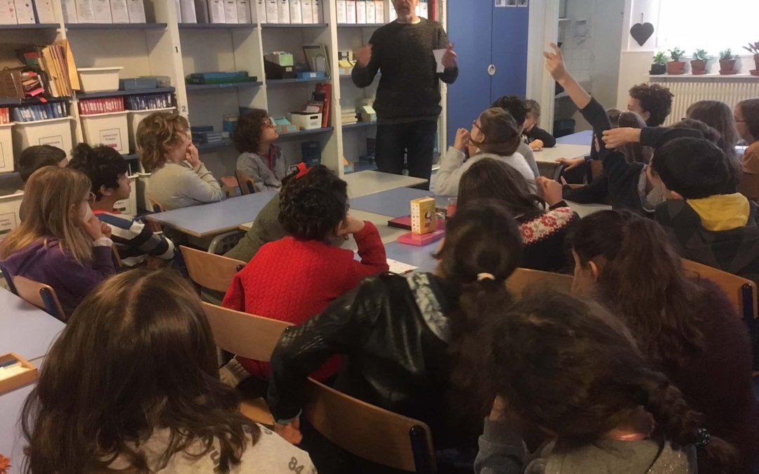 Poème illustrés des élèves – École Le Petit d'Homme, Paris 11